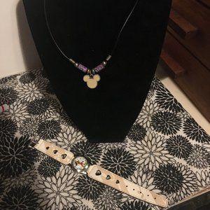 Disney Necklace & Watch Bundle -248  $25 FIRM